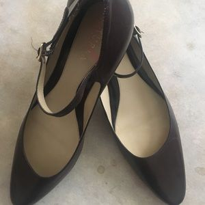 Ralph Lauren Low heeled Mary Jane Shoes 8.5